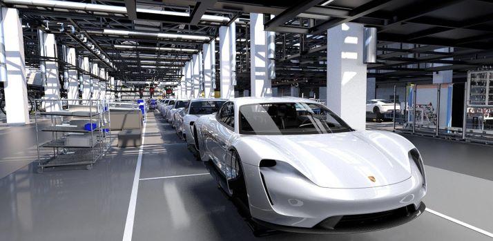 Porsche Taycan-production Line