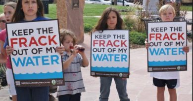 Children Protesting for Clean Water