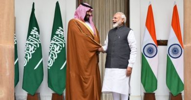 Crown Prince Salman with Modi in Saudi Arabia