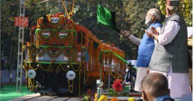 PM Modi in Varanasi for Loco