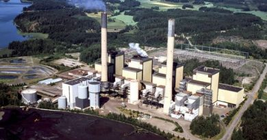 Coal power plant in Finland