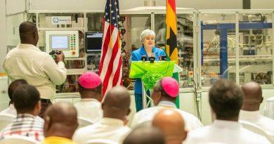US ambassador at Ghana Event