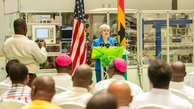 US ambassador at Ghana Event