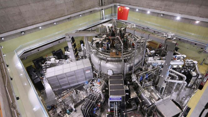 Experimental Advanced Superconducting Tokamak (EAST)