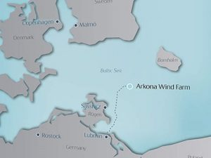 Arkona facility at the Baltic sea