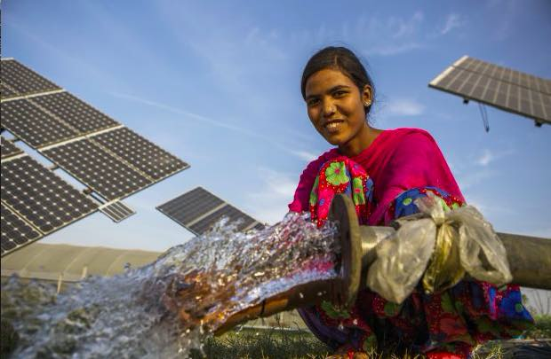 Agariya Community adopts solar water pumps