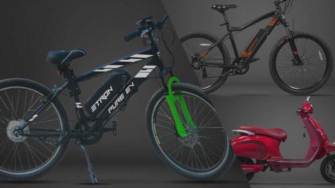 PURE EV bikes
