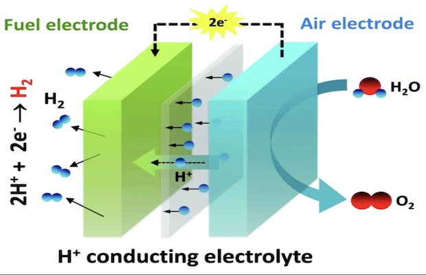 Proton Conducting Fuel Cell