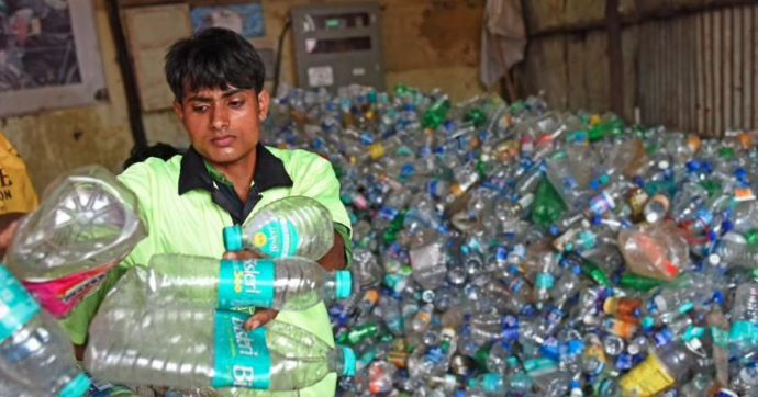 Rising plastic mess in India
