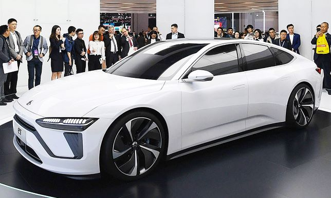 NIO ET at 2019 Shanghai Auto