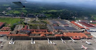 Cochin Airport Ariel view