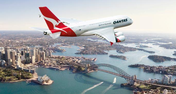 Qantas flies first zero waste flight