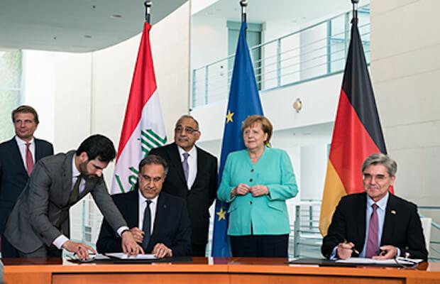 Siemens Iraq Grid