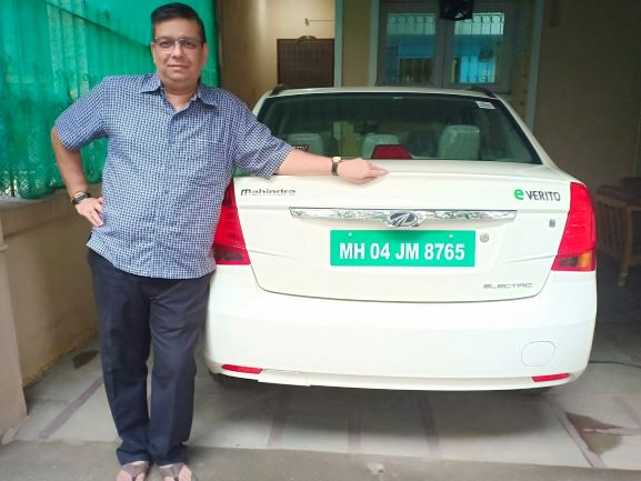 India's first private green number plate