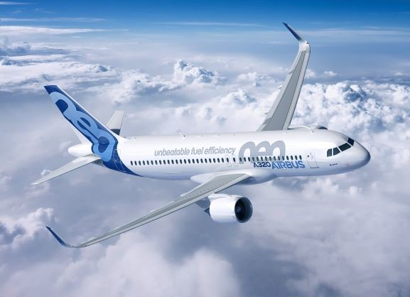 A320neo plane Airbus