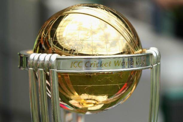 ICC world cup trophy closeup