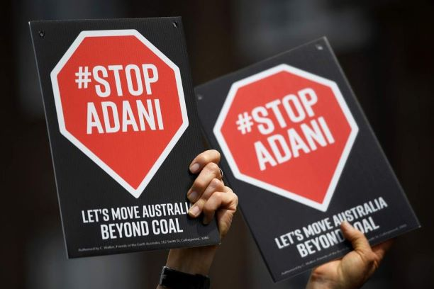 Stop Adani Signs