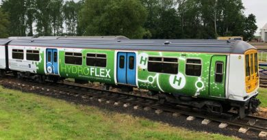 Hydrogen Train Hydroflex in the UK
