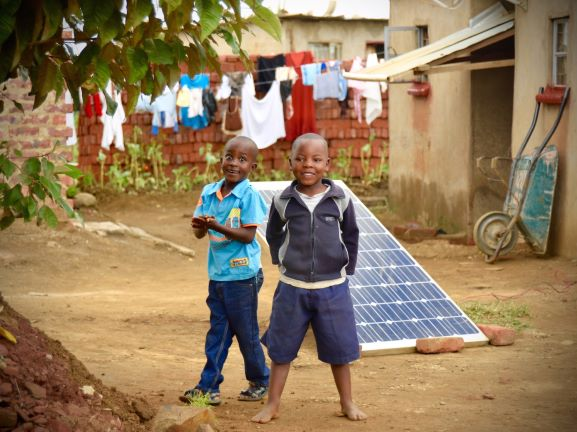 Solar Micro grid in Africa
