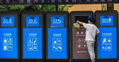 China Begins Waste sorting in Shanghai
