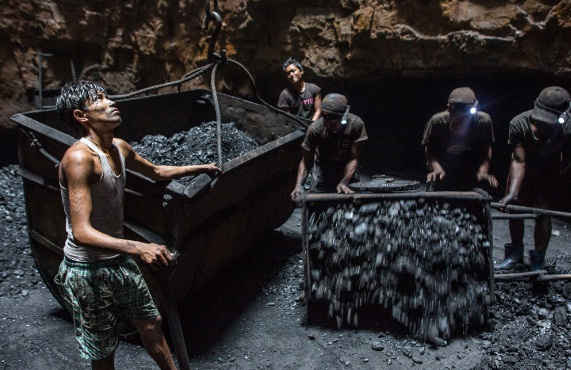 Coal Mines are death traps for miners