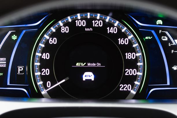 Electric Vehicle dashboard console