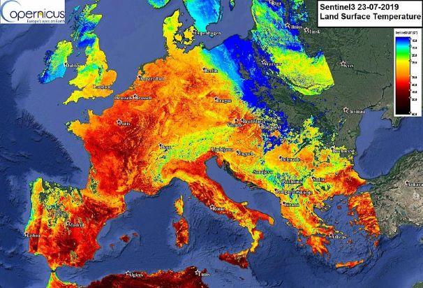 Europe facing heatwave- Again