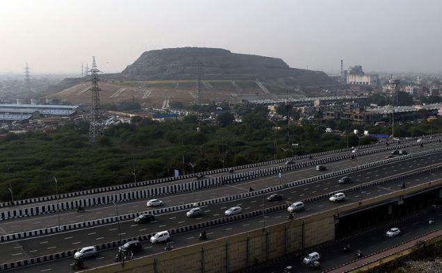 Ghazipur Landfill is an eye sore for Delhi