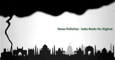 Ozone Pollution in India Ranks the Highest