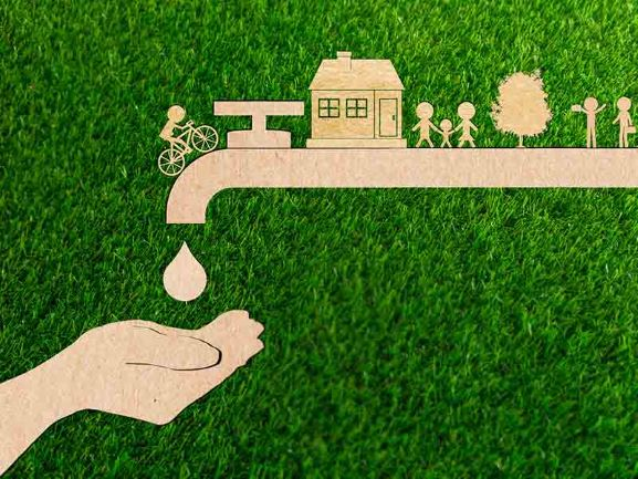 Save Water--Banner