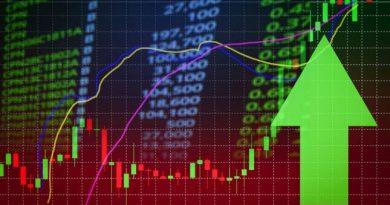 Trading market green