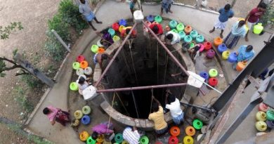 Water Scarcity in Chennai- India