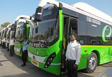 electric buses in Telangana