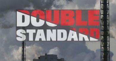 Greenpeace Double Standard banner