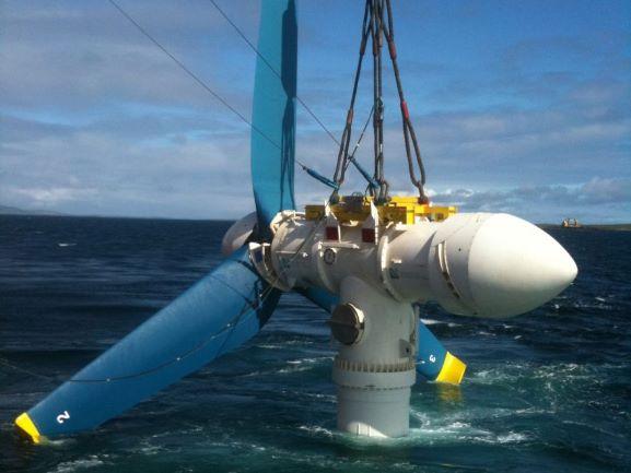 Tidal Power Generation turbine