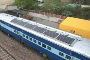solar-powered Railway coaches