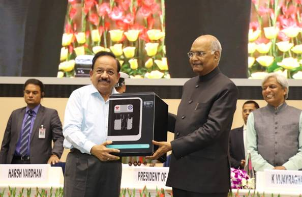 President Kovind Unveils India's First Green Fuel Cell System
