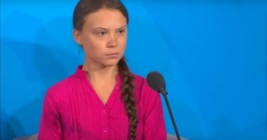Greta Thunberg Rebukes World Polity on Climate Change: How Dare You?