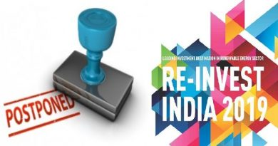 MNRE Postpones Renewable Energy Flagship Event 'RE-Invest'