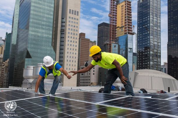UN HQ Gets Solar Panels as Goodwill Gift From India