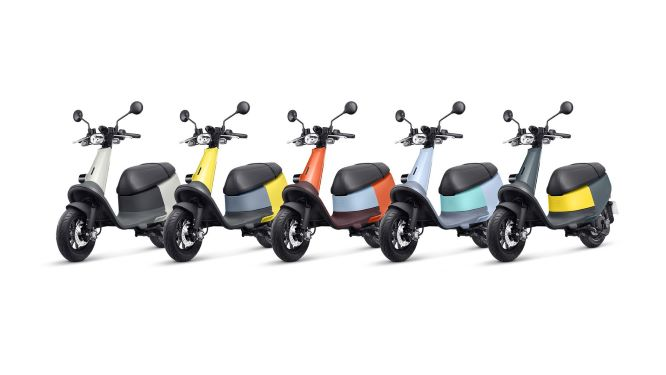 Gogoro's Viva will be available in five color combinations