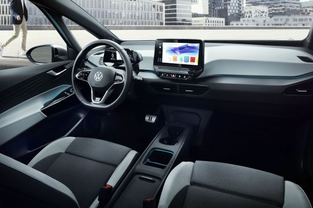 VW ID.3 interior view