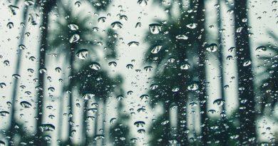 Representative photo of rainfall.