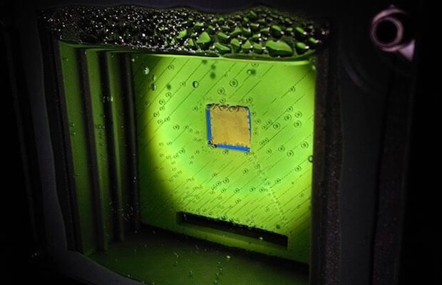 Artificial Leaf Sunlight Gas