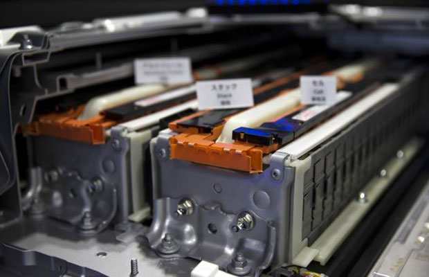 lithium ion battery by toyota