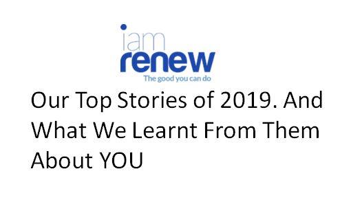 2019 roundup for Iamrenew