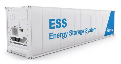 A smaller battery storage system for 1 MW