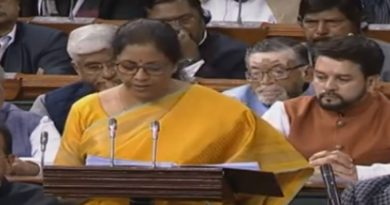 Nirmala Sitharaman presents the 2020 budget