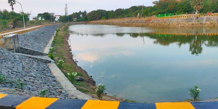 Grundfos Pond Restoration in Chennai