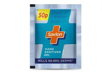 Savlon, hand Sanitiser sachet